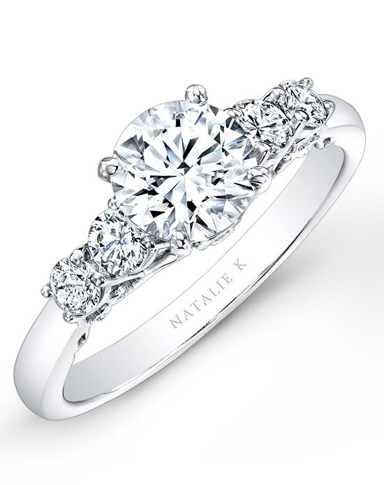 Natalie K Renaissance Collection - NK26632-W Wedding Ring - The Knot