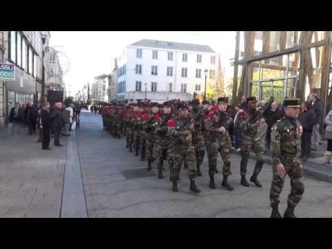 1er RAMAa  défilé et chant le 11 novembre 2014 à Châlons en Champagne