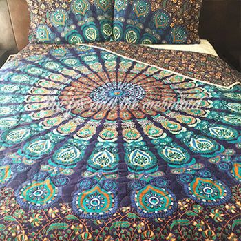 Under The Sea Mandala Quilt