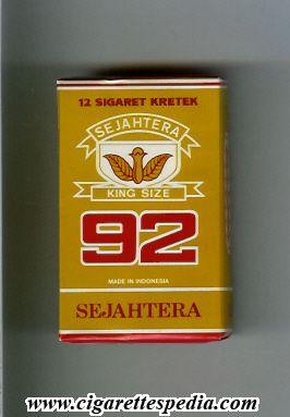 92 Sejahtera Kretek 12 pcs - Indonesia