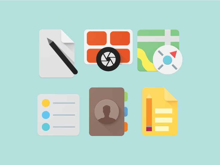 OS X Material Design Iconography (5/5)