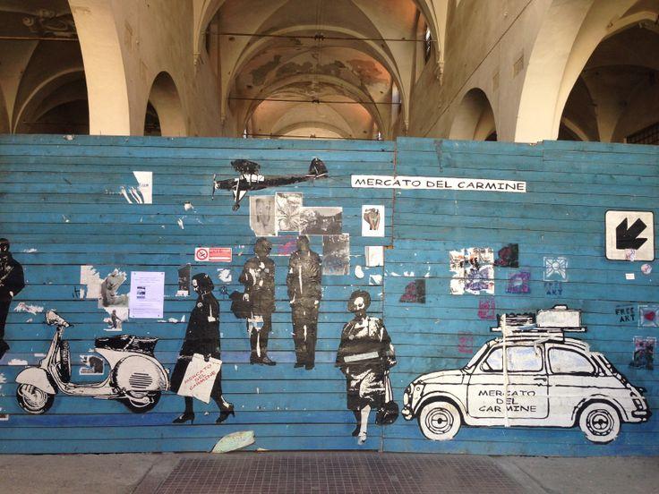 Il mercato del Carmine a #Lucca #monumentsMenWe #invasionidigitali #liberiamolacultura