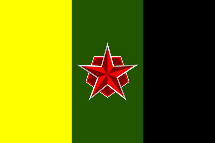 Kingdom of Temow  a request on nationstates  . . . yeah, I know, red star and kingdom don't go together well but it is as it was requested.