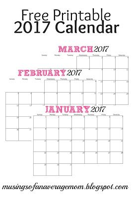 305 best FREE printable 2018 calendars + 2017 calendars images on ...