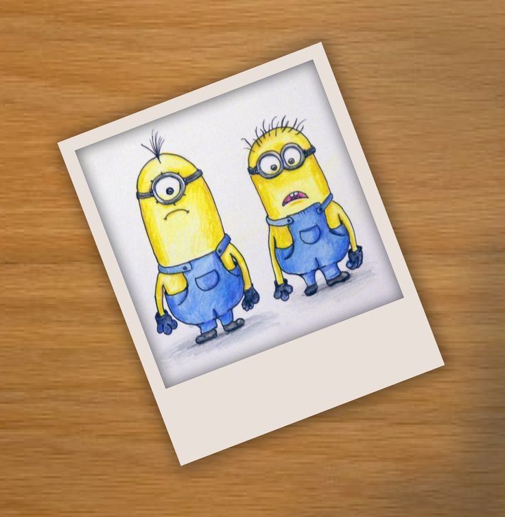 Drawing of Minions, Despicable Me