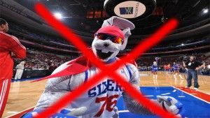 Hip Hop is out; Philadelphia 76ers are looking for a new mascot for the new season starting Christmas Day 2014.