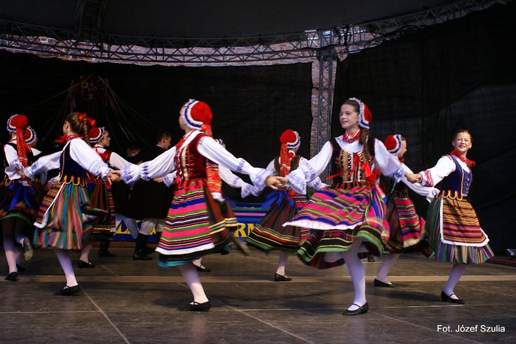 Folk costumes from Podlasie Nadbużańskie region, Poland.