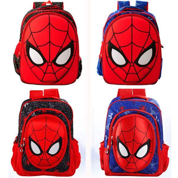 Baby Kids Toddler Boys Nursery Student Spiderman Backpack Schoolbag Rucksack Bag #Unbranded