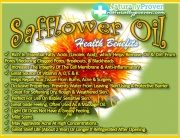 Safflower Oil Safflower Oil is rich in Linoleic acid - an Essential Fatty Acids, which helps remove oil and dirt from pores. Reducing clogged pores, breakouts, and blackheads. • Increases the Integrity of the Cell Membrane and is an Anti-inflammatory. • Great source of Vitamin A, D, E, and K. Helps repair scar tissue from burns, acne, and surgery. • Occlusive Properties: Prevents water from leaving the skin using a protective barrier. #natural #organic #dryskin #carrieroil #essentialoil…