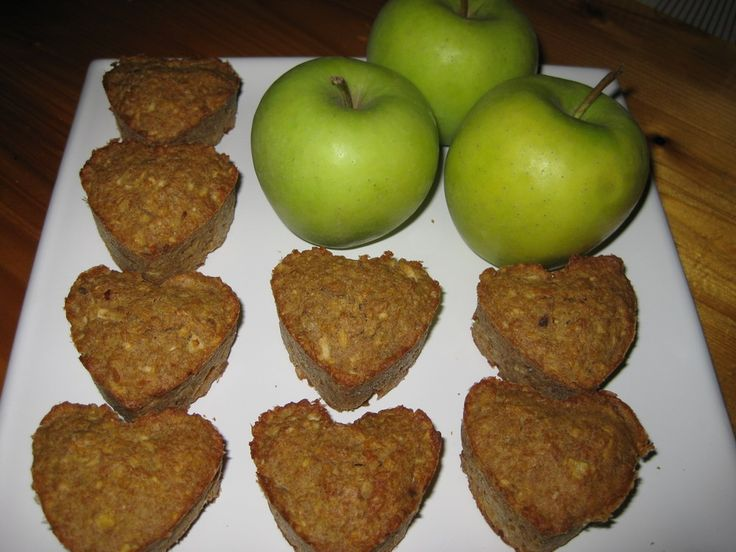 Almás-zabpelyhes muffin recept