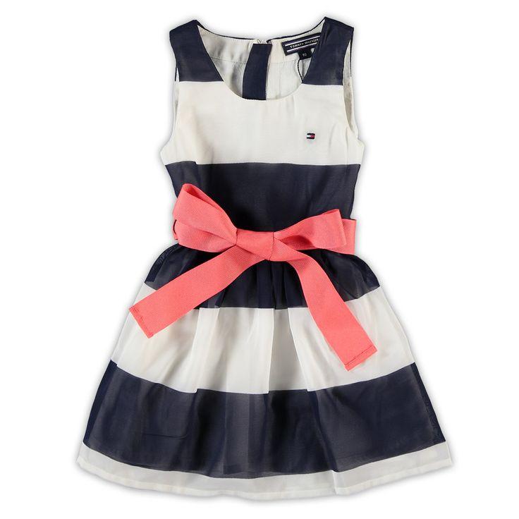 Tommy Hilfiger Toddler Girls jurk   kleertjes.com