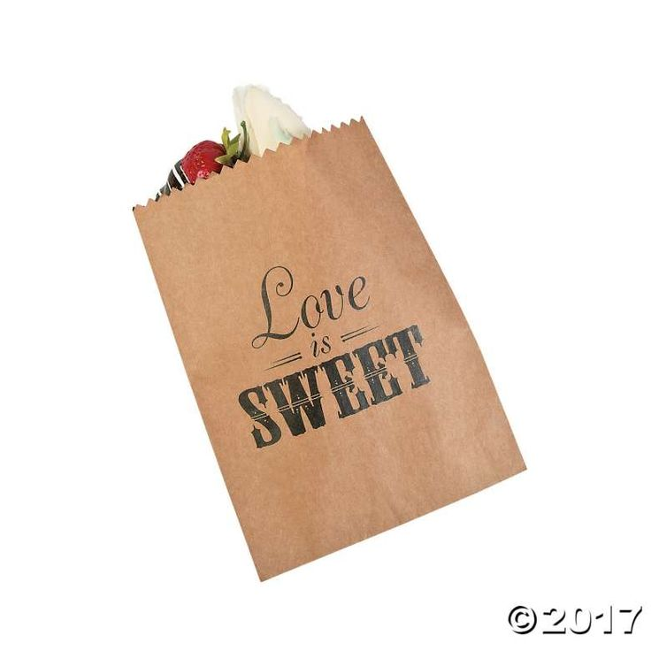 Send your wedding guests home with a sweet slice thanks to these Love is Sweet Cake Bags. Perfect for Valentine's Day goodie bags, too. Not just for ...