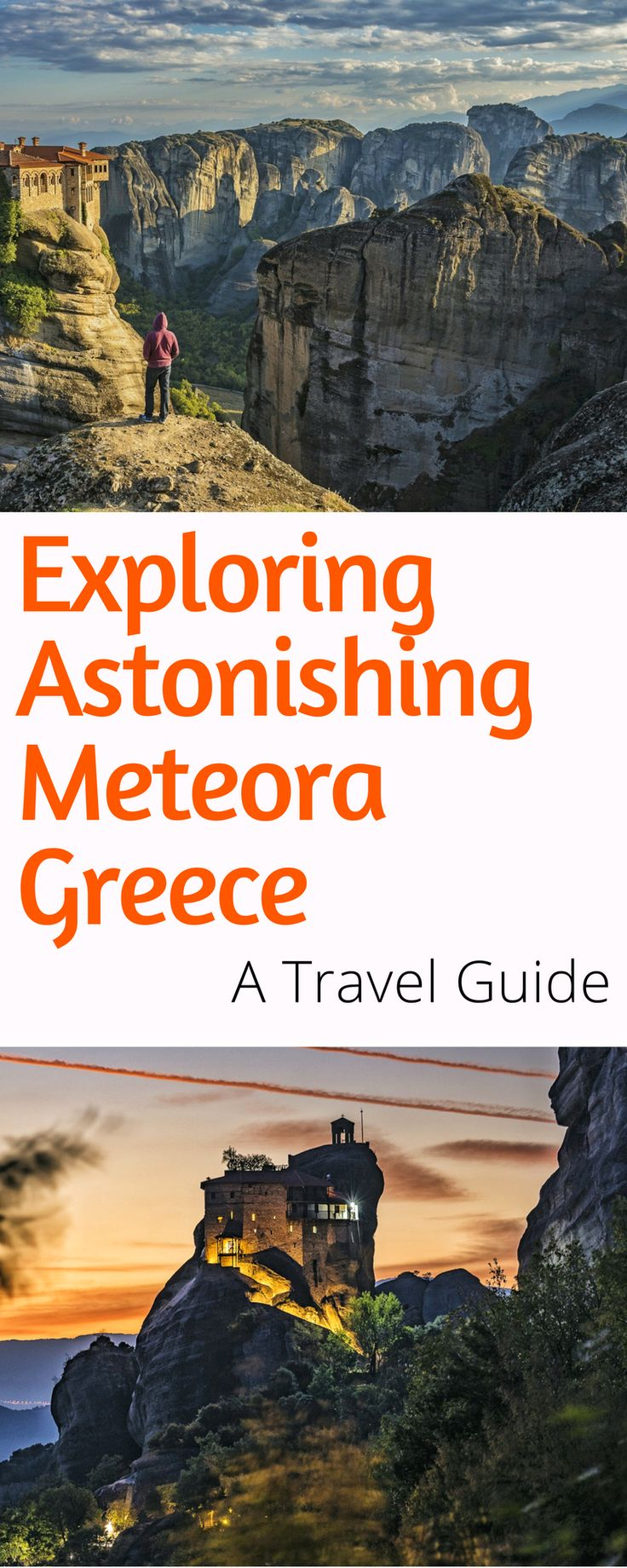 Meteora Greece Travel Guide: Everything you need to know to visit astonishing Meteora Greece. How to get to Meteora from Athens, where to stay, where to eat in Meteora and more. Click here to start planning (and for more stunning pics)!