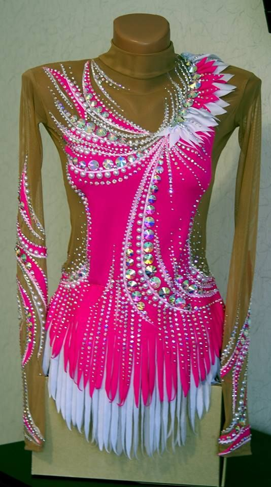 leotards rhythmic gymnastics, straight skirt, less mesh