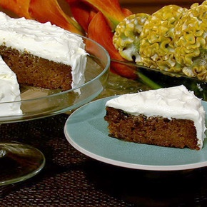 ... Abrams' Carrot Cake with Maple Cream Cheese Frosting recipe. #thechew