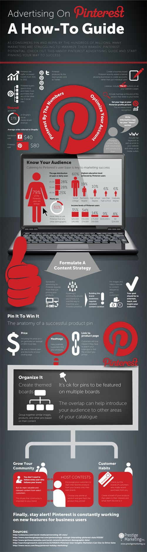 Pinterest #infografia