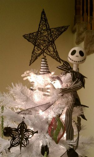 jack skellington from the nightmare before christmas christmas tree - Jack Skeleton Christmas Decorations