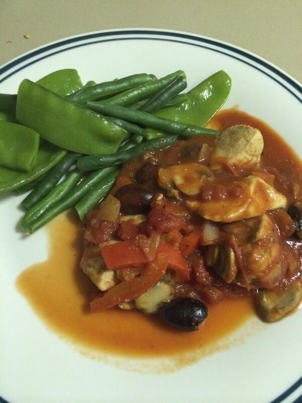 We can't resist 12WBT's low carb Chicken Cacciatore. This Italian classic happens to be packed with protein, perfect for a post workout recovery sesh!