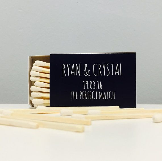 Wedding matchboxes for sparkler exit. Custom designs available.
