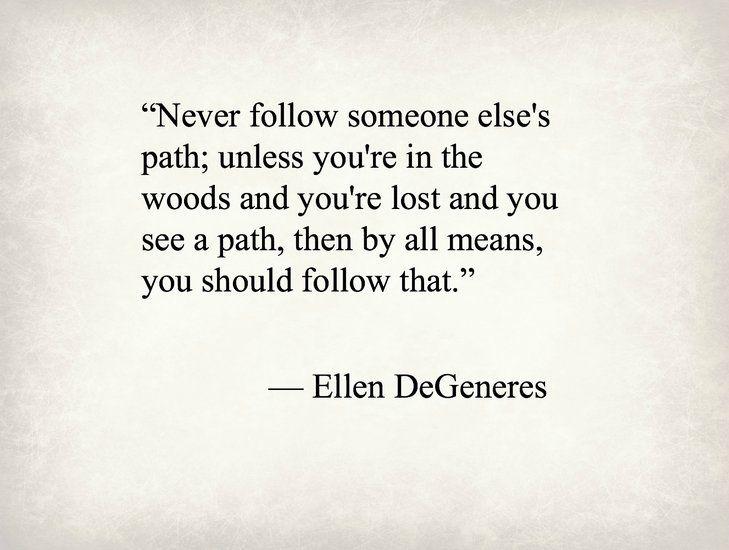 Ellen DeGeneres, talk show host - Purple Clover