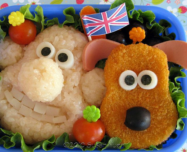 Wallace and Gromit by SusanYuen, via Flickr
