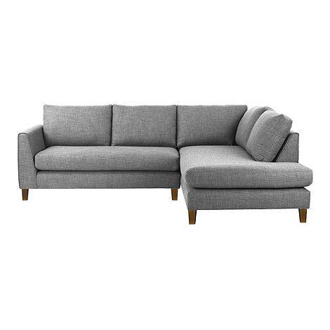 Ben de Lisi Home Fabric 'Jakob' right-hand facing corner sofa- at Debenhams Mobile