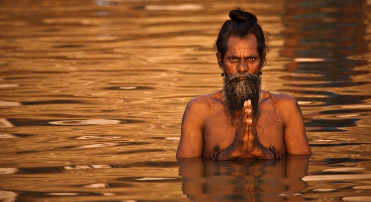 Neuvěřitelná energie svatých mužů z Indie