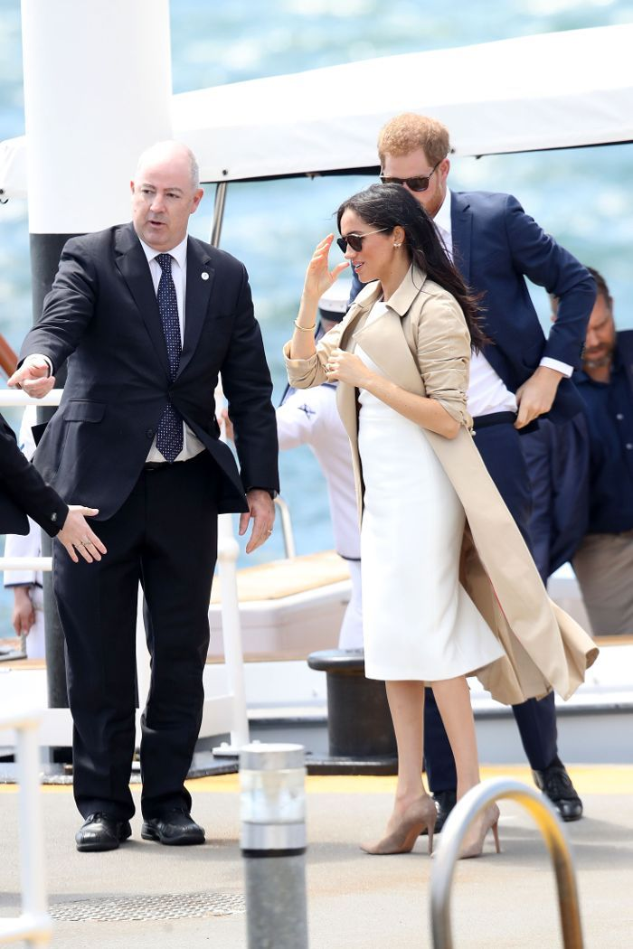 Meghan Markle Wore An Ethical Australian Brand For Her First