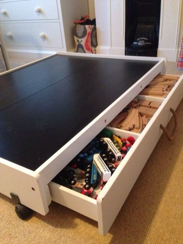Gltc Underbed Play Table And Drawer 163 80 United Kingdom