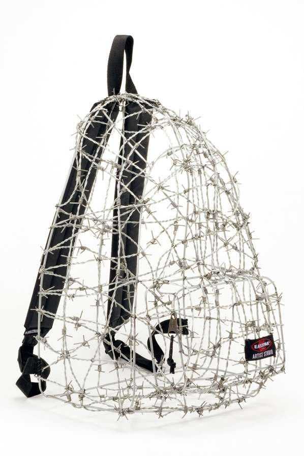 Don't touch my bag!!! These Designers Against Aids 2012 Eastpak Bags are Quirky and Bold!!!!!!!!!