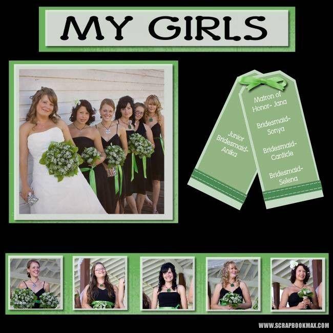 Wedding+Scrapbook+Pages   wedding-feb19-008-Page-9 - Digital Scrapbooking Layout Gallery ...