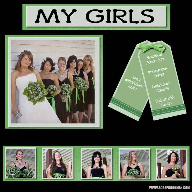 Wedding+Scrapbook+Pages | wedding-feb19-008-Page-9 - Digital Scrapbooking Layout Gallery ...