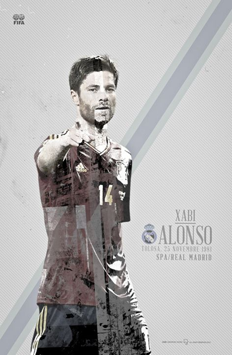 BALLON D'OR 2012 candidate by Giuseppe Vecchio Barbieri, via Behance
