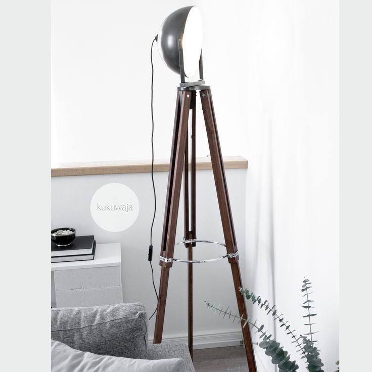 DIY Stativlampe Tripodlampe By Kukuwaja