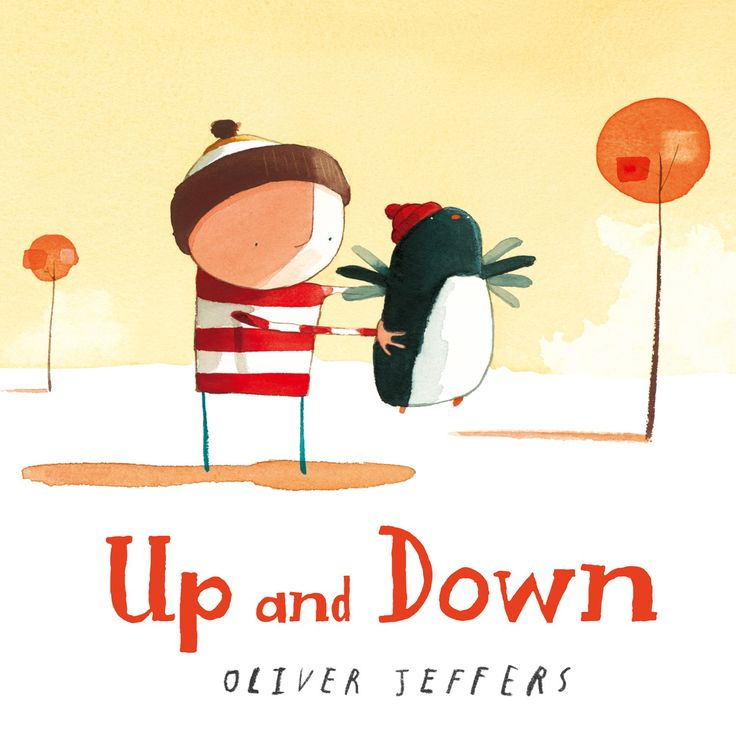 """Oliver Jeffers """"Up and Down"""""""