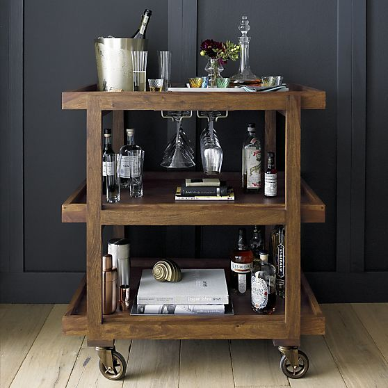 Orb Champagne-Wine Bucket in Bar Accessories | Crate and Barrel