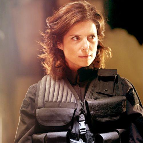Elizabeth Weir ( Torri Higginson) on Stargate Atlantis