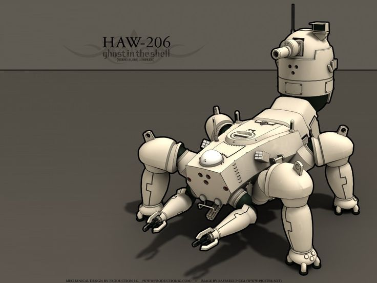 Ghost In The Shell Mecha
