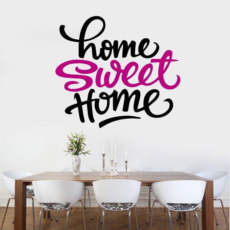 Sweet Home - Vinilos Decorativos Fotomurales Adhesivos - Medellín