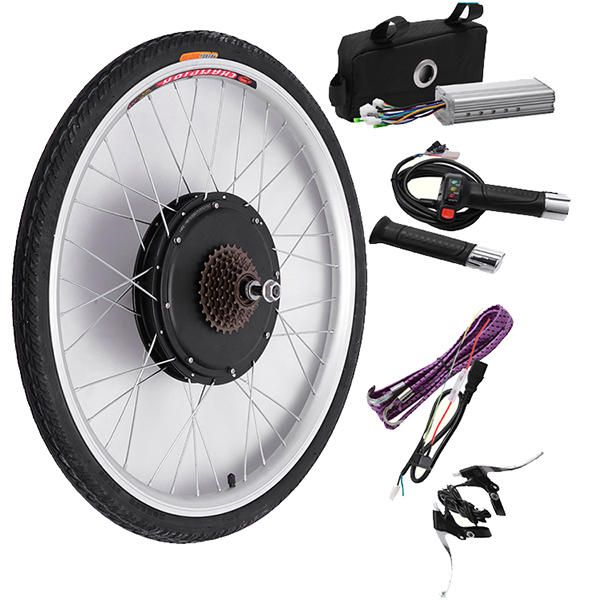 Bikight 48v 500w 26inch Electric Bicycle Modification Kits Driving