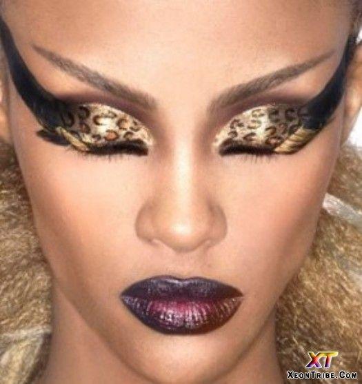 : Cheetah, Make Up, Leopard Print, Eye Makeup, Leopards, Beauty, Hair, Eyes