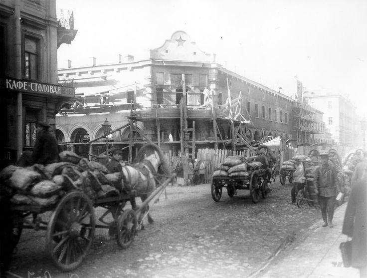 Кузнечный переулок/Улица Достоевского.  1927 г.