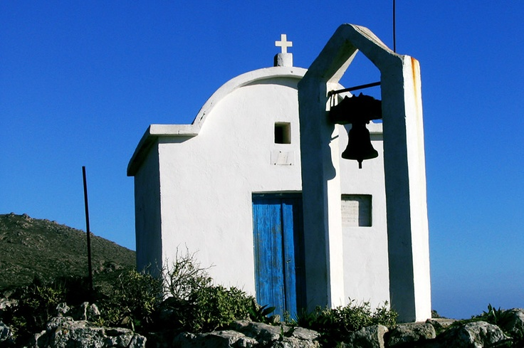 Profitis Illias hill chapel, above Anidri. It's an easy walk up, and offers a stunning view over the sea. 'Paleochora' south west Crete. http://www.kritiguide.com/