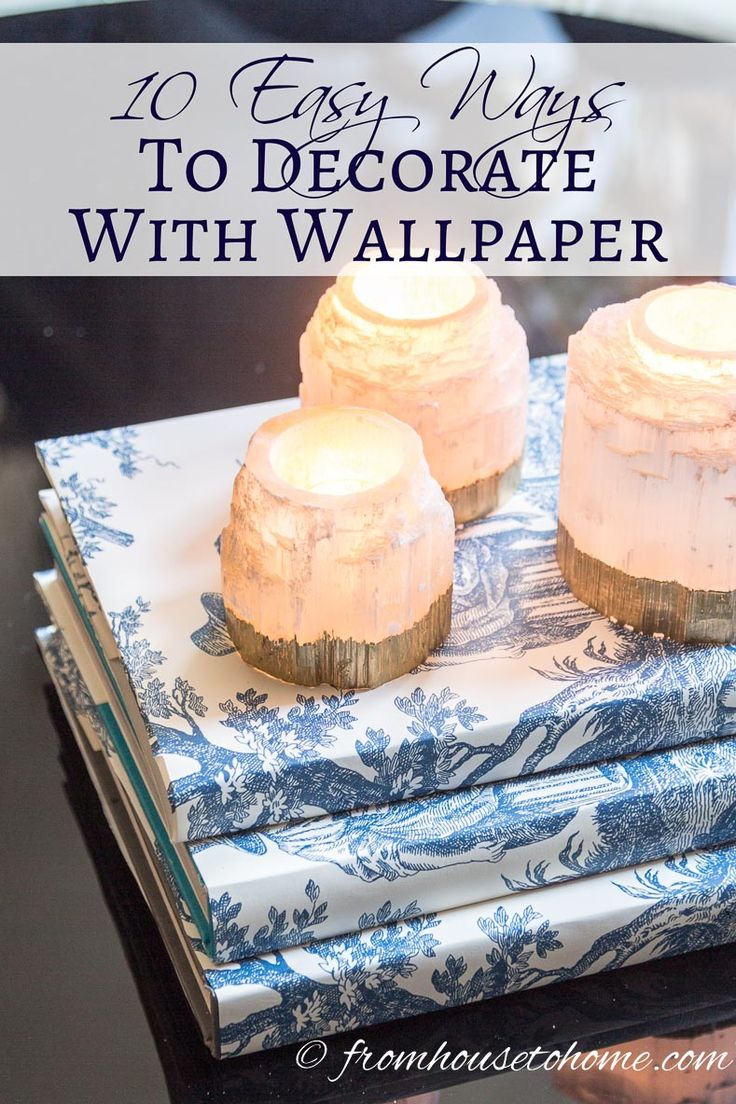 Best 25 diy wallpaper ideas on pinterest large wall decals 10 ways to decorate with wallpaper that will make your home beautiful amipublicfo Choice Image