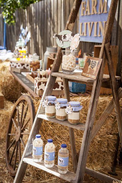 Little Big Company | The Blog: A Gorgeous Farm Yard Themed Birthday by Jo Studio