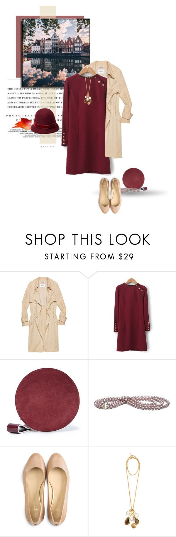 """""""Fall in the city"""" by heather ❤ liked on Polyvore featuring Kerr®, Babaton, Lara, Diane Von Furstenberg, Cole Haan, Kanupriya and Laura Ashley"""