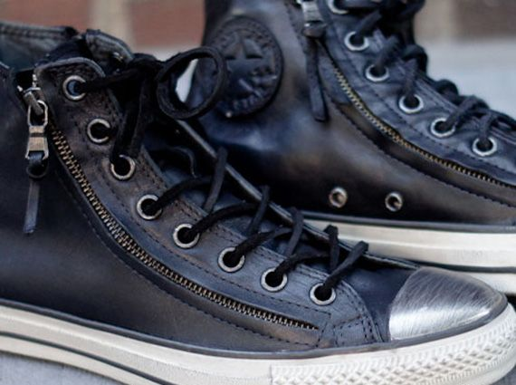 John Varvatos x Converse All Star Double Zip