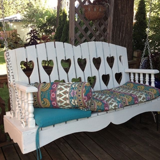 17 best living room makeover images on pinterest living for Victorian porch swing plans