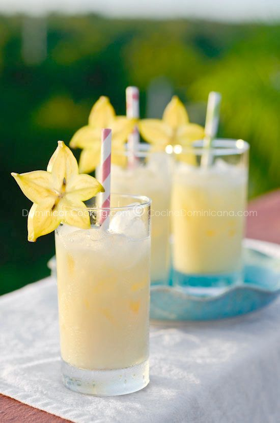 Another amazing Dominican drink. And no, you don't have to put alcohol in it.