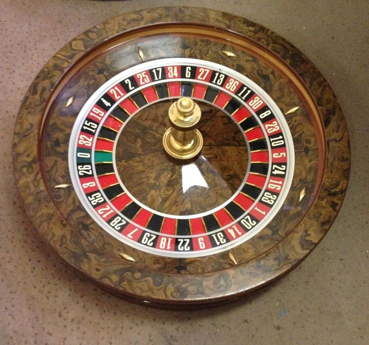 Used huxley roulette wheel